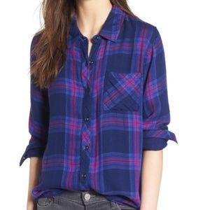 New Rails Hunter button down shirt size xs